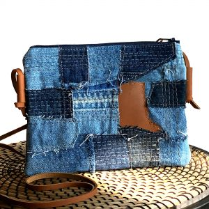 1820 Recycled Denim CB Blue1 - 1820 Bag Co