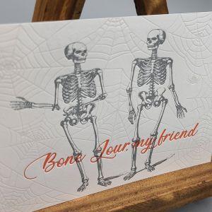 Bone Jour Postcard